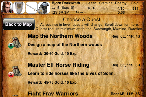 Screenshot iQuest